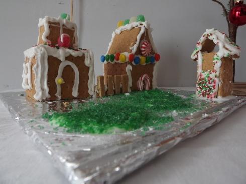 Graham Cracker Christmas house